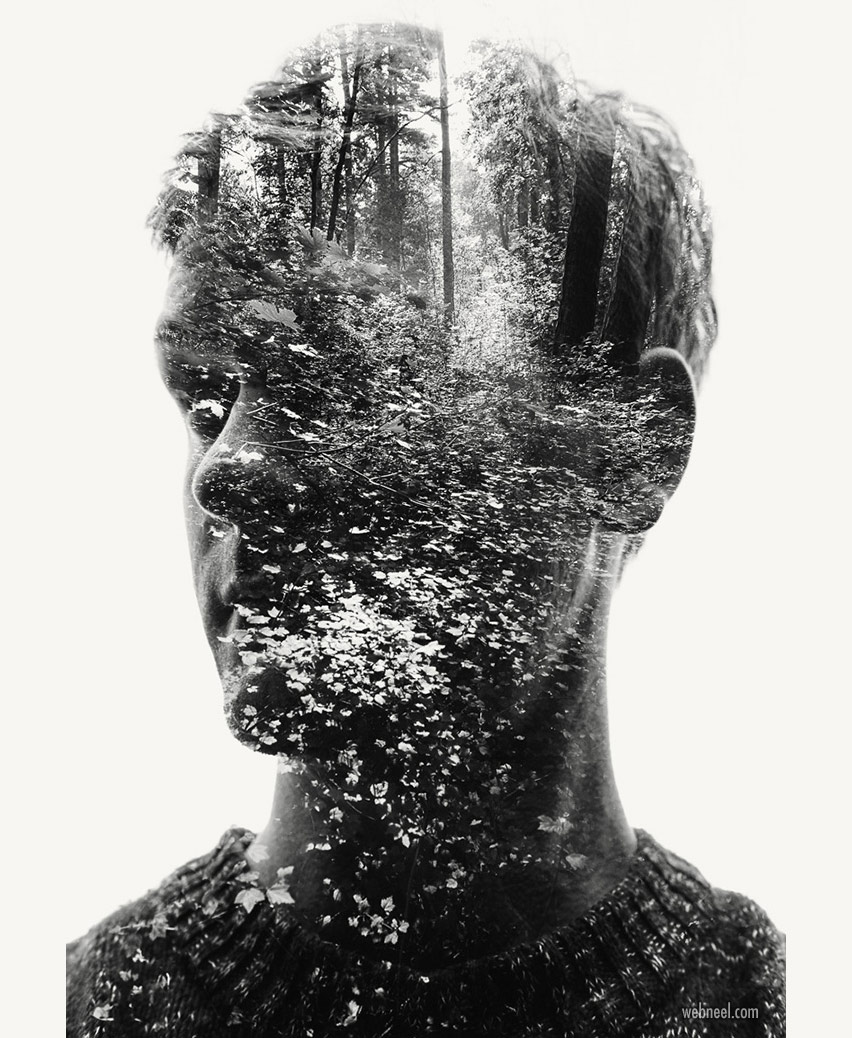 double exposure photo effect by christoffer relander