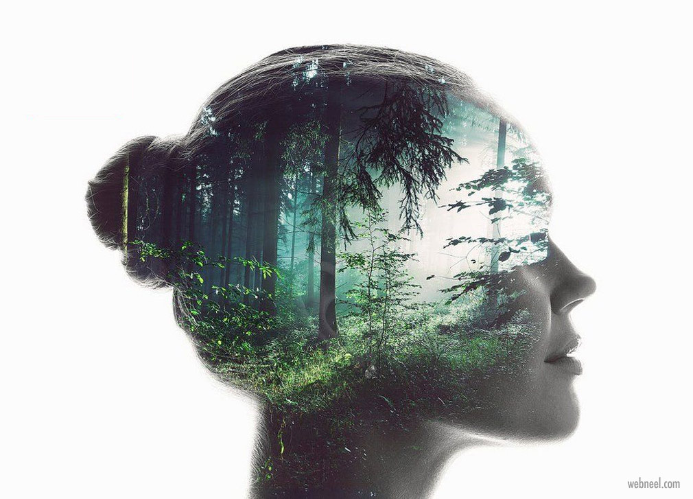 double exposure photo effect by dusskdesign adobe stock