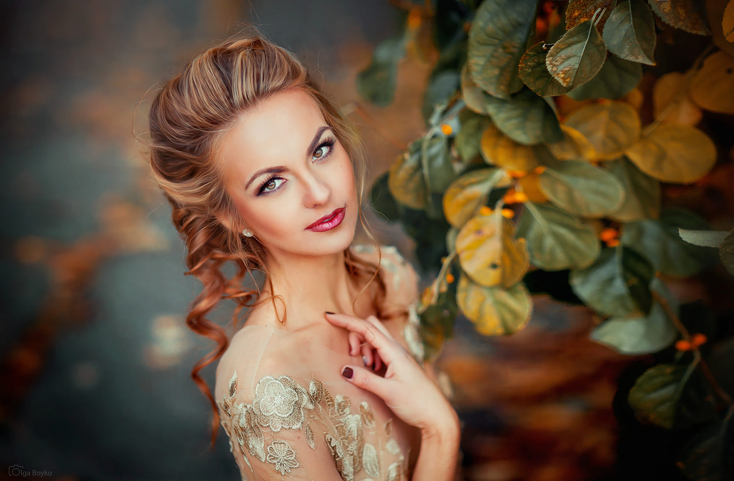 portrait photography anna by olga boyko