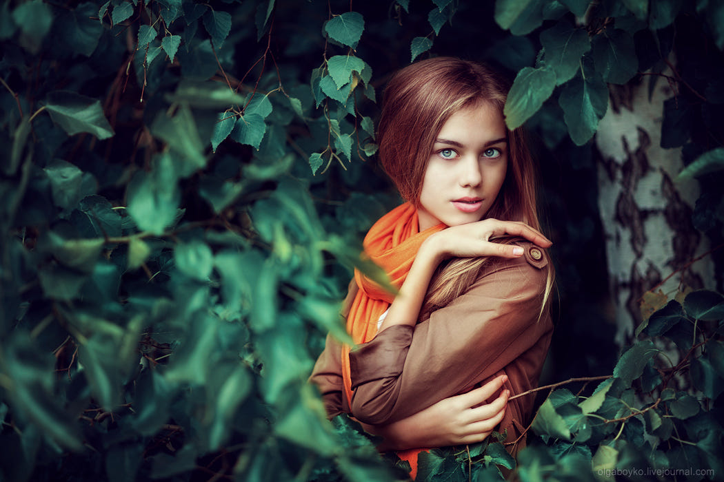 portrait photography annas by olga boyko
