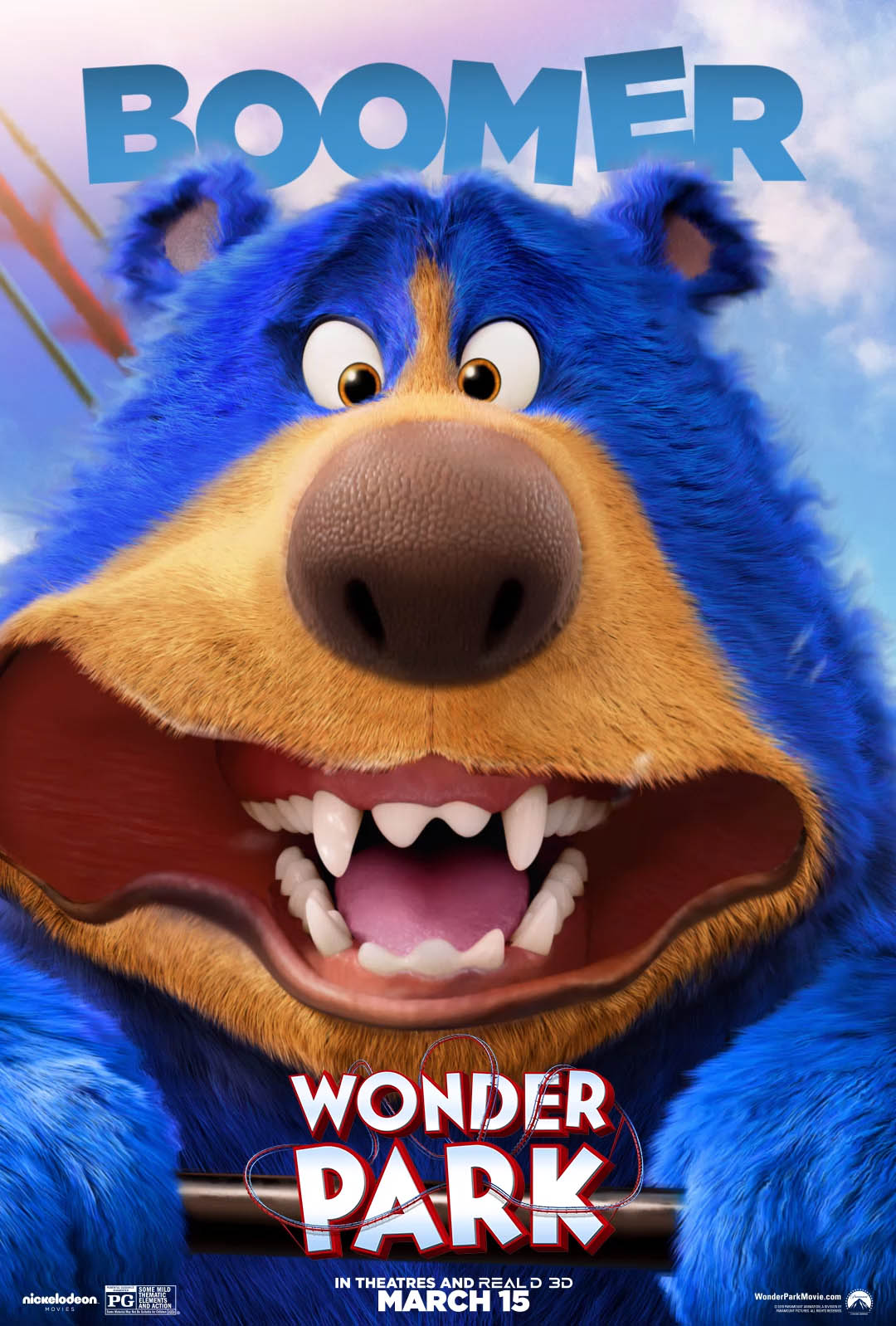 3d animation movie boomer wonder park