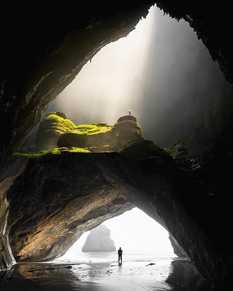 photo manipulation cave