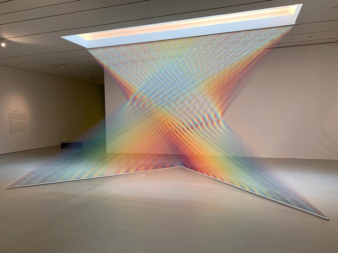 art installation thread