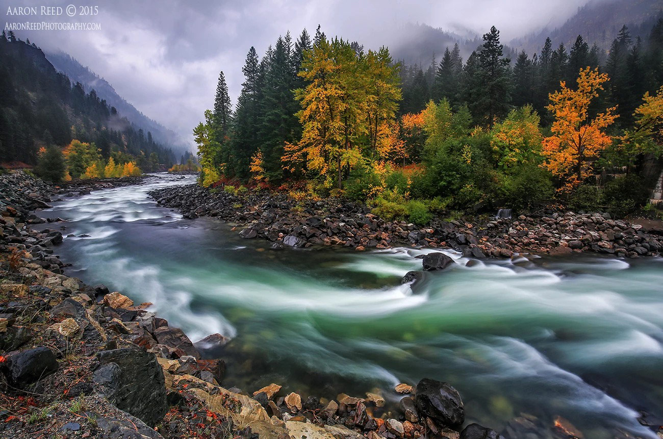 nature photography landscape river by aaron reed