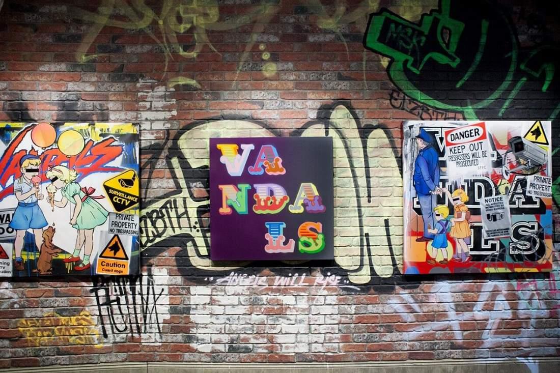 street art by ben eine