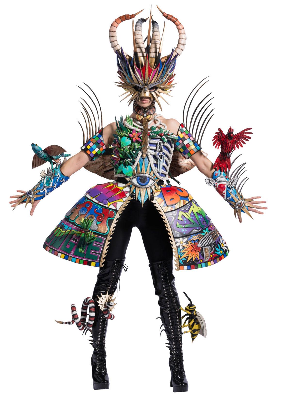 wearable art dress underling
