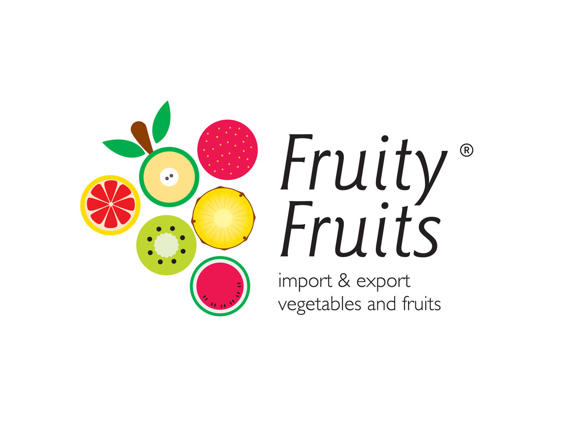fruit logo design fruity