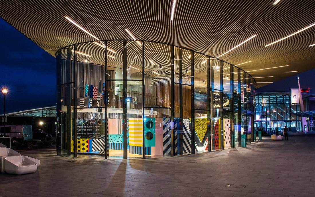 mural art gallery by camille walala