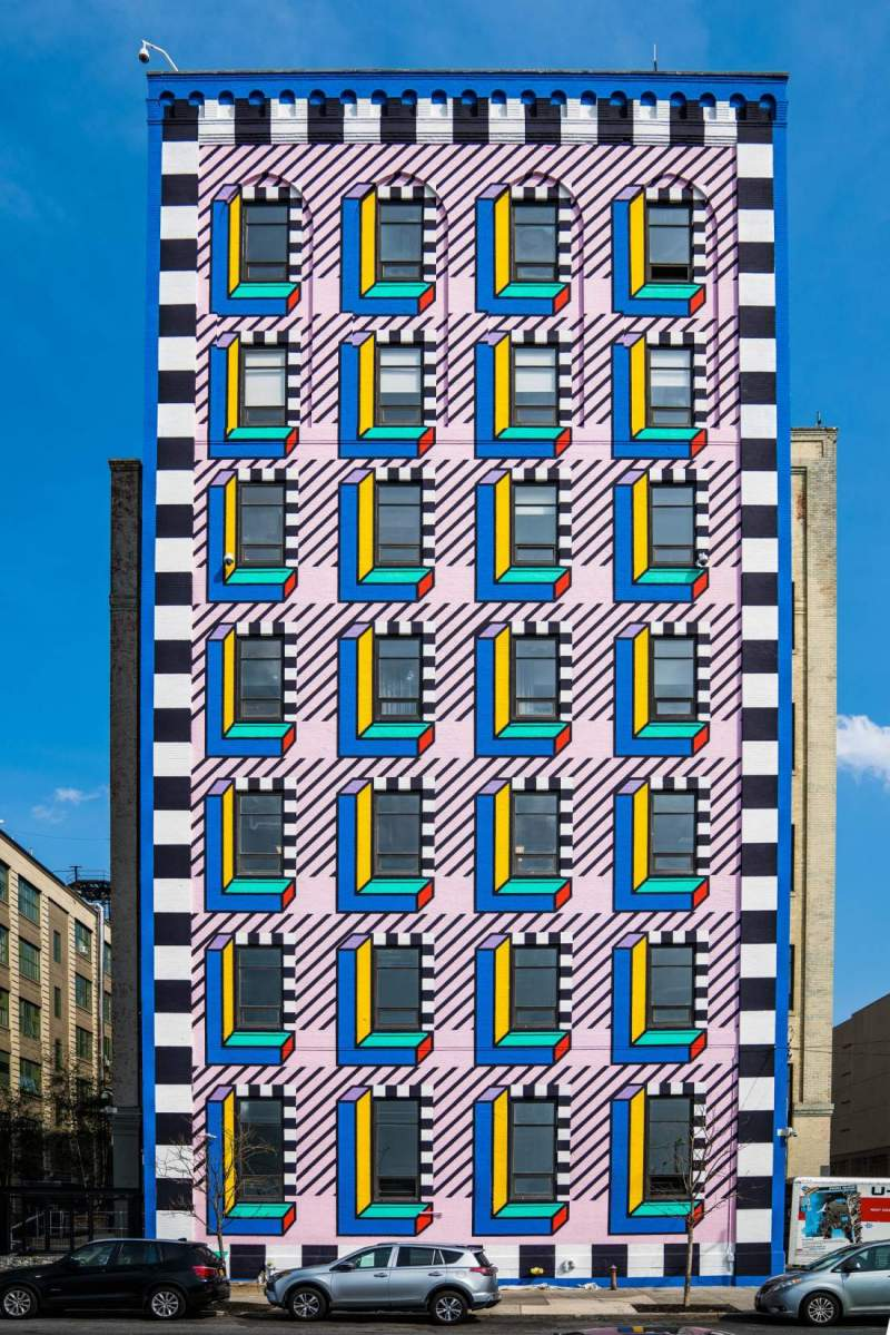street art by camille walala