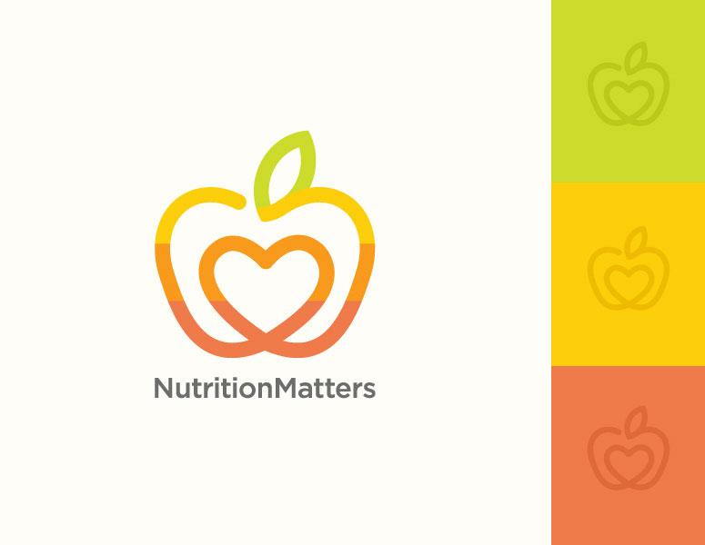 fruit logo design nutrition by jana novak