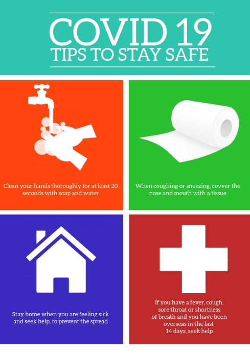illustration tips to stay safe
