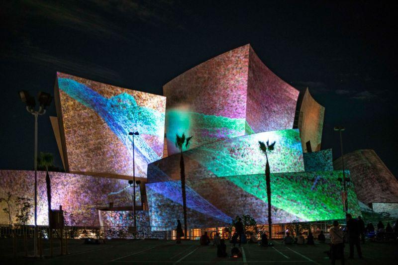 animation of walt disney concert hall dreams