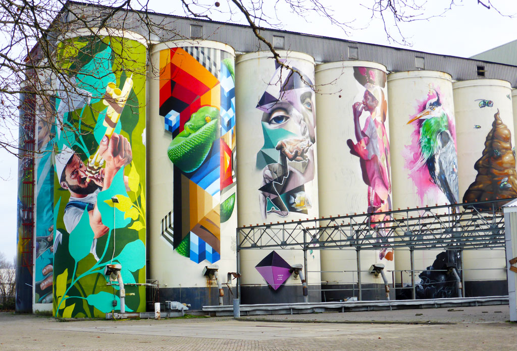 street art king of colors by den bosch