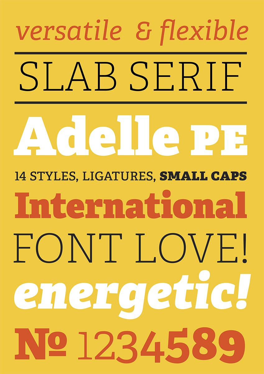 typeface design by brian johnson