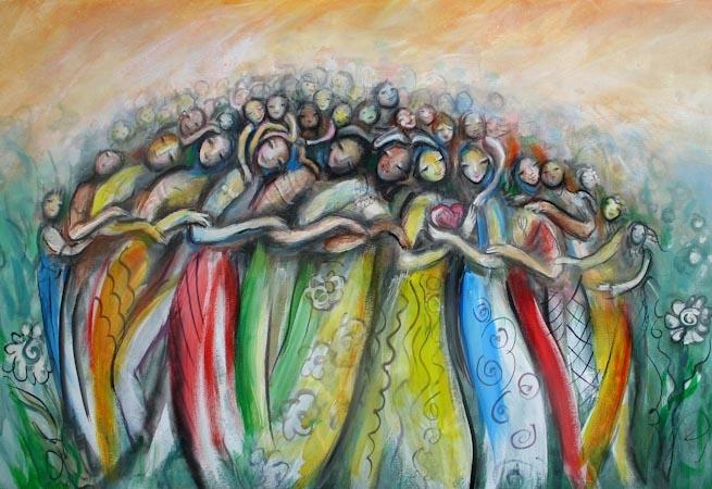 artwork togetherness