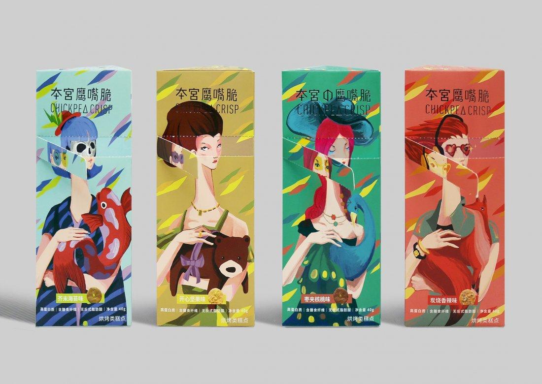 package design contest chick pea crisp
