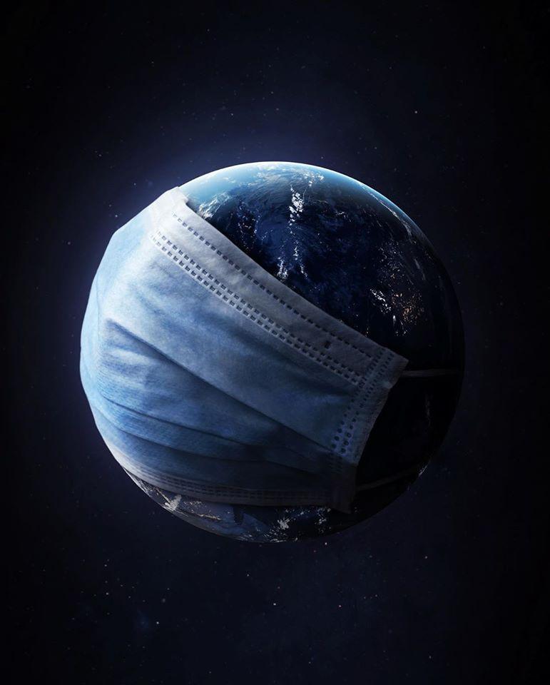 photo manipulation mask earth