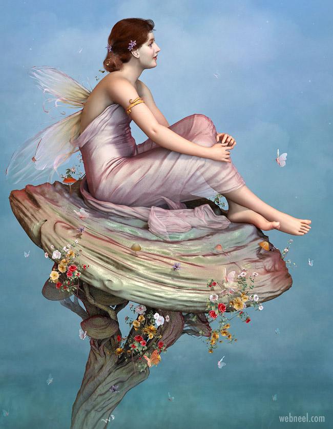 3d model fairy girl