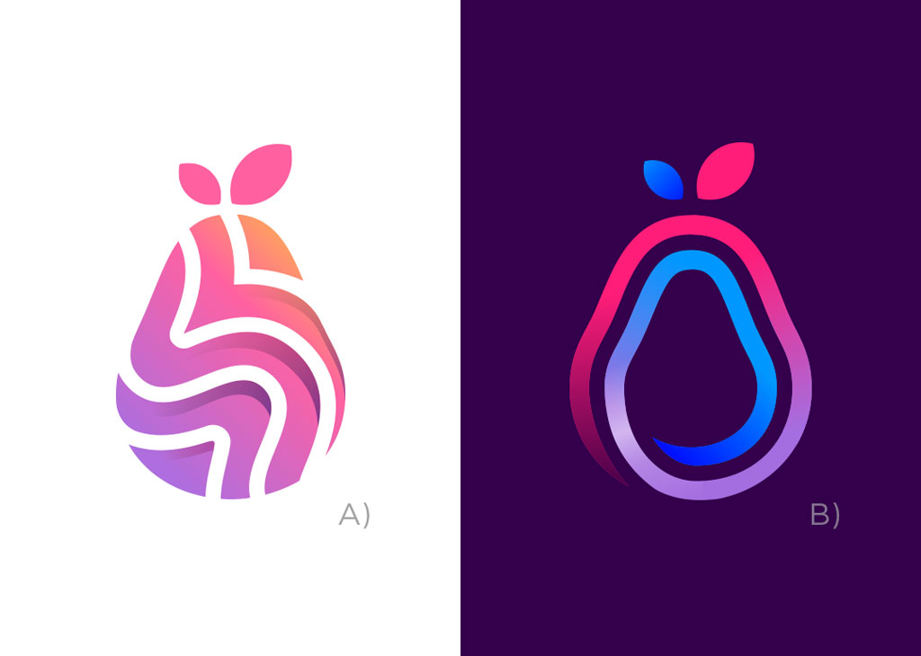 fruit logo design