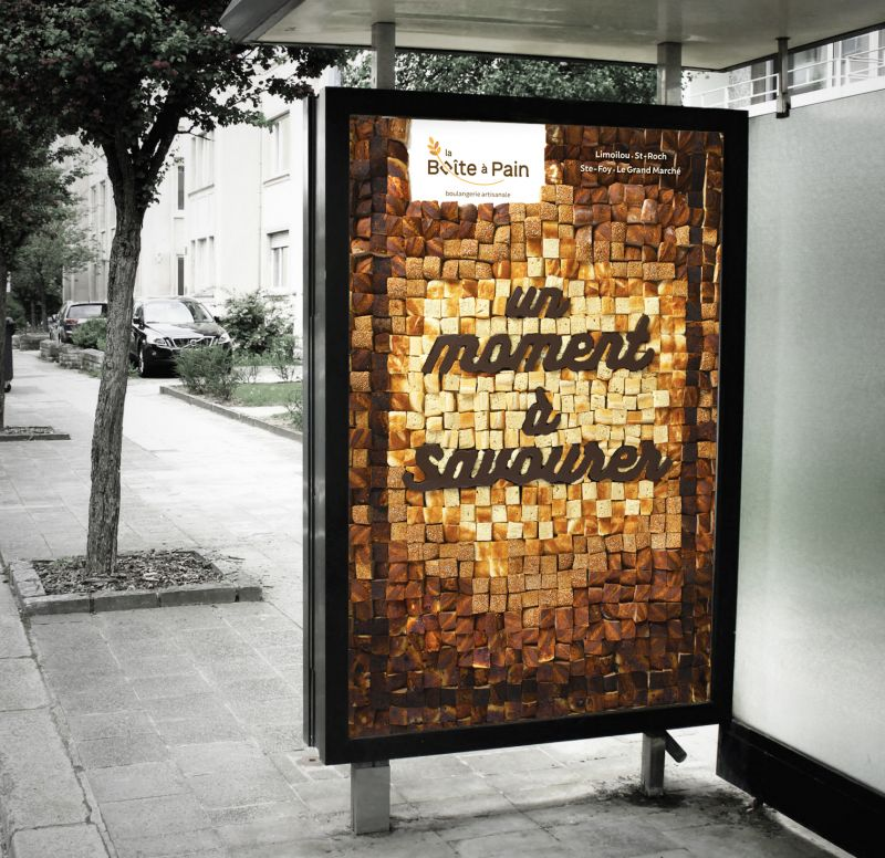 creative outdoor advertising design by dominic ouellette
