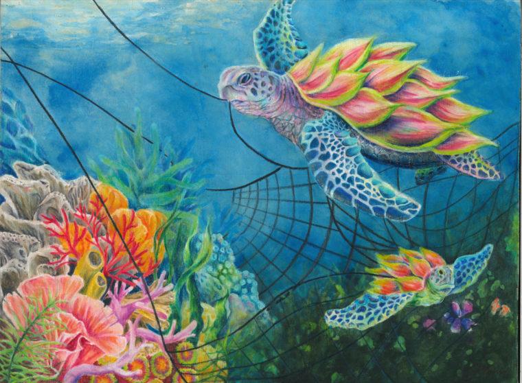 painting turtle