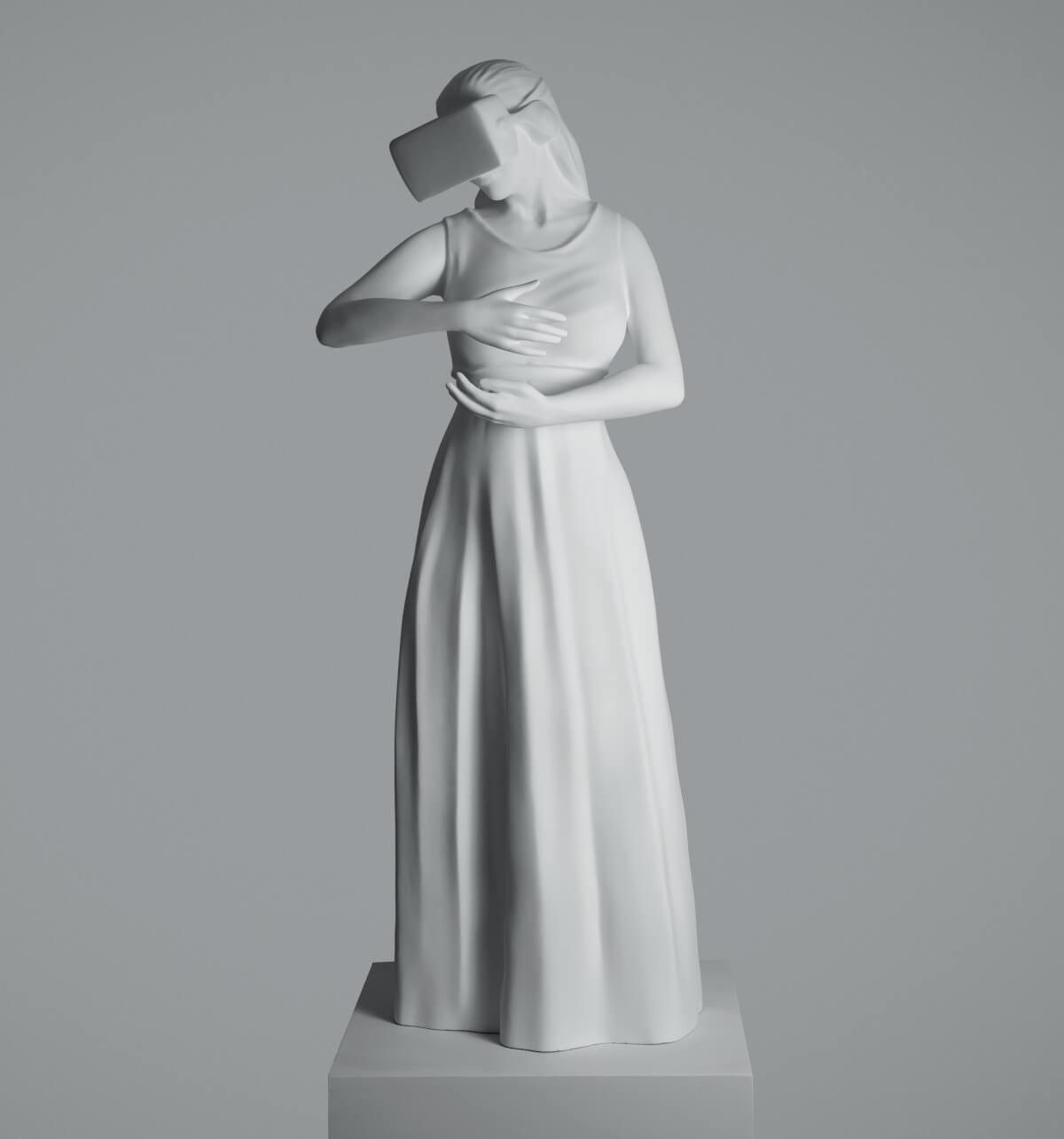 sculpture woman