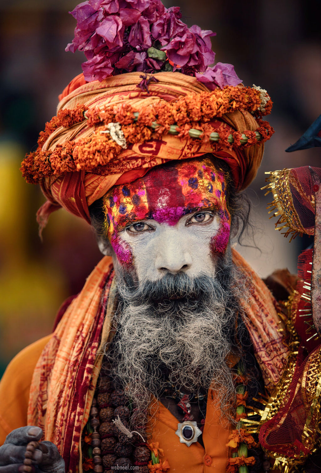 travel photography india ascetic