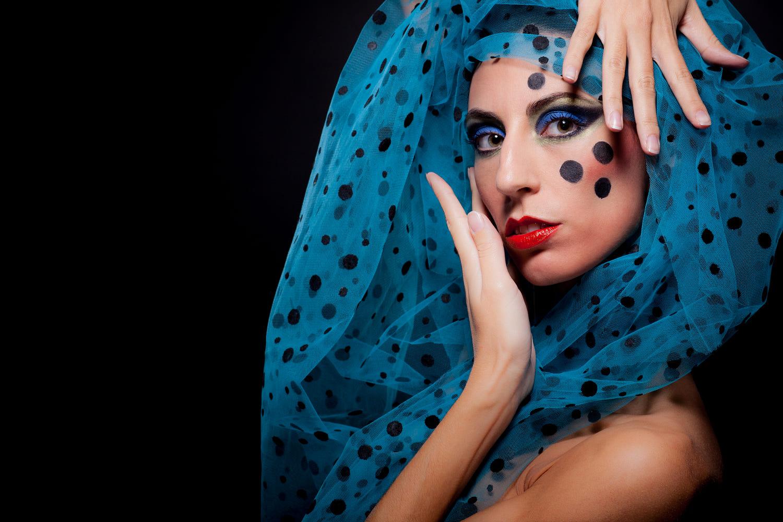 stunning woman portrait photography