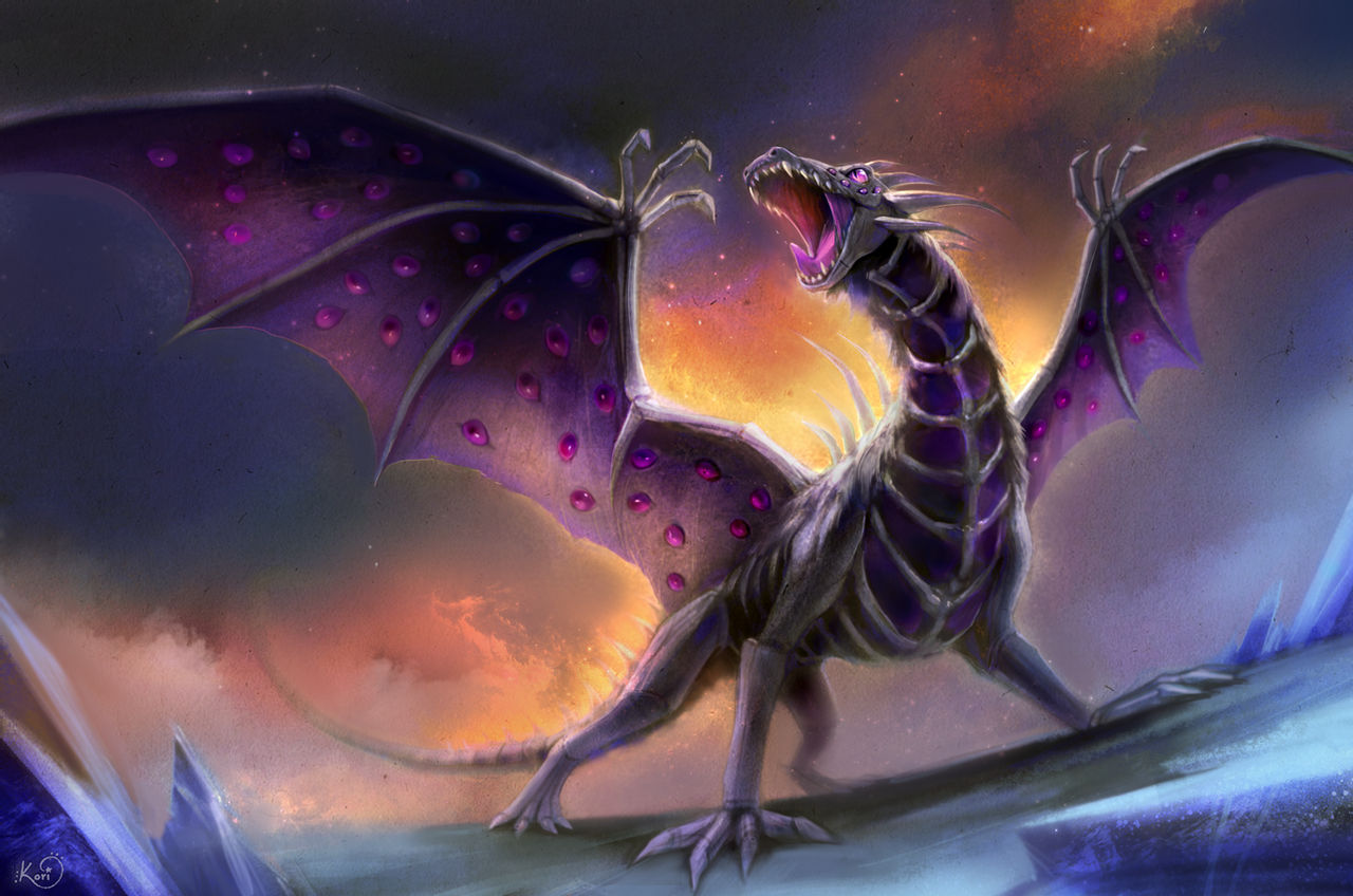 fantasy cartoon dragon