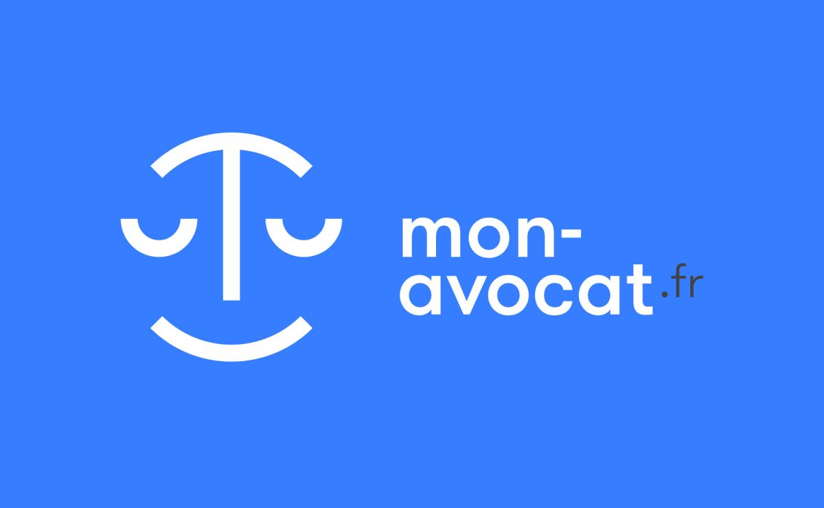 brand identity design of mon avocat