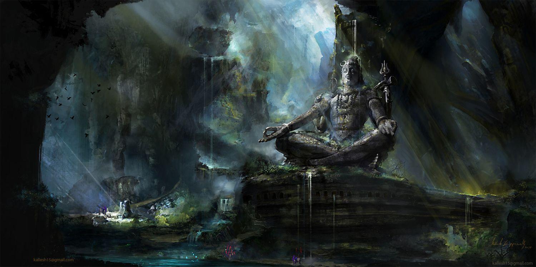 3d sculpture work spiritual enlightenment