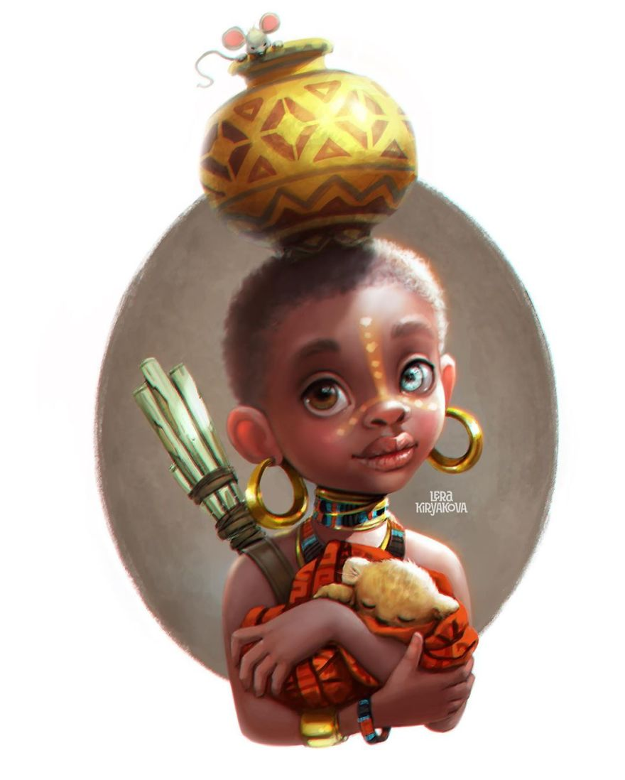 amazing character design