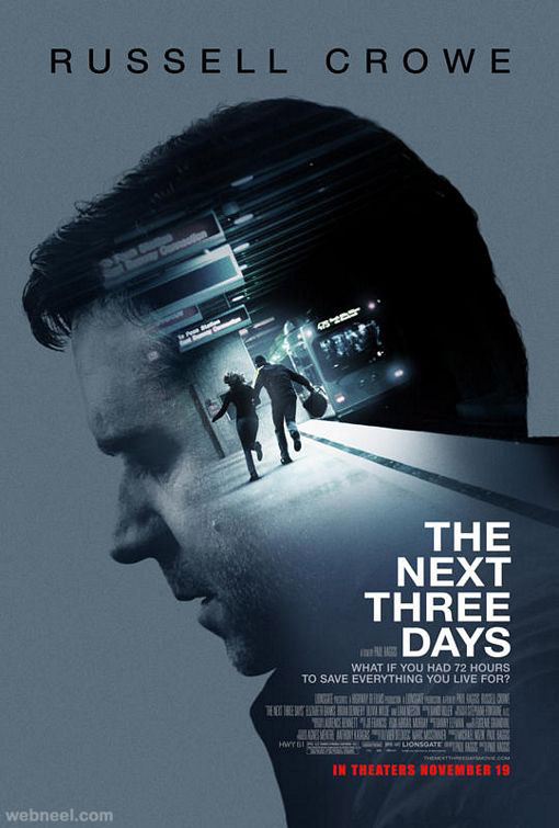 next_three_days creative movie poster