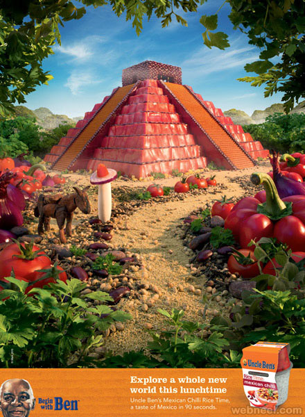 ub mayan temple best ads by carl warner