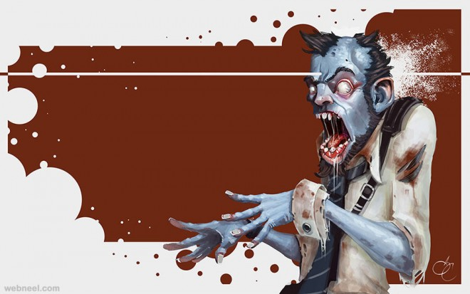 zombie character by samuel