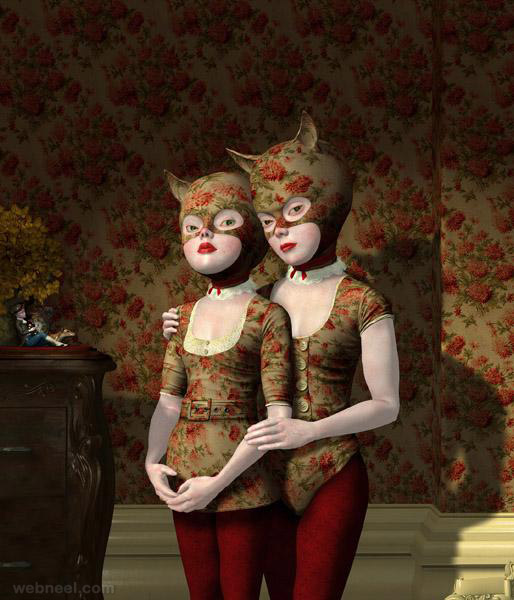 wall flowers painting by ray caesar