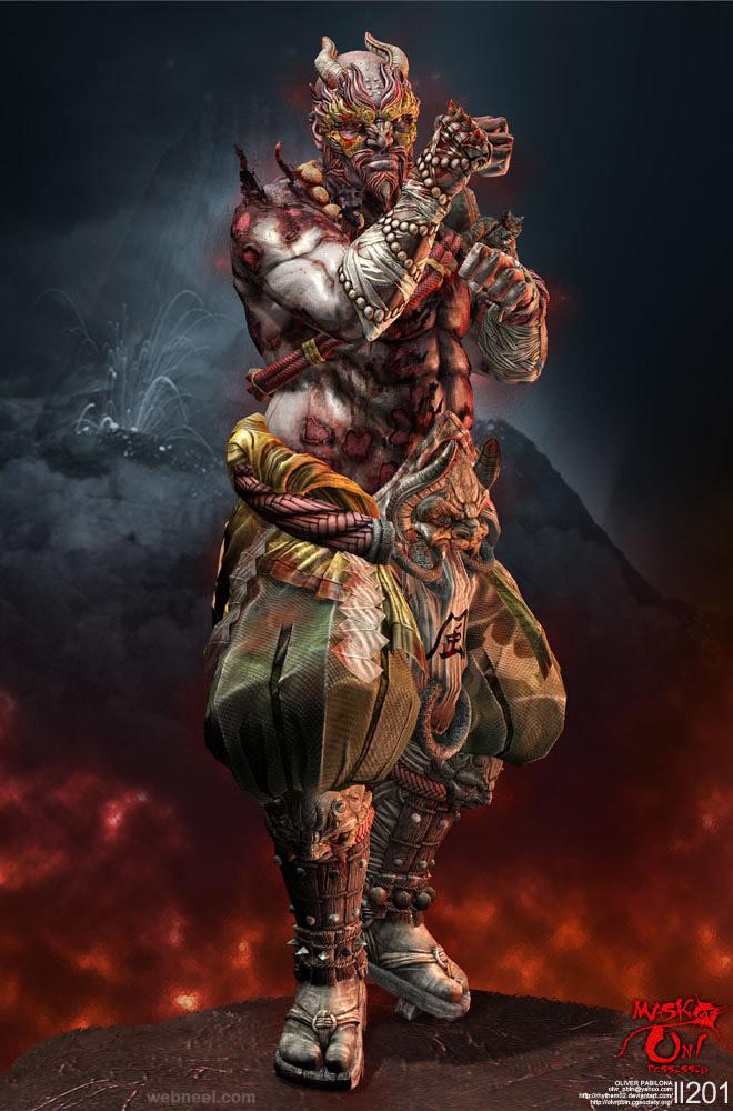 3dsmax character design by rhythem