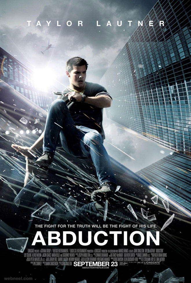 abduction creative movie poster