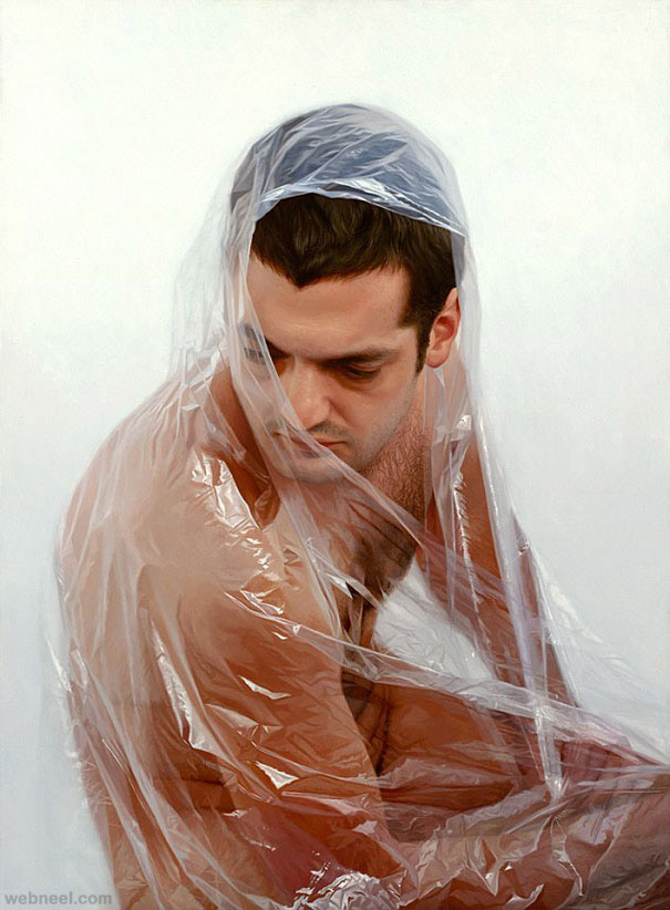 hyper realistic painting by robin eley