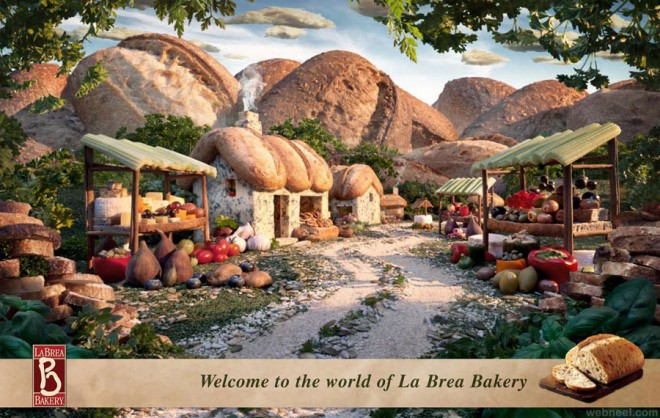 la brea bread best ads by carl warner