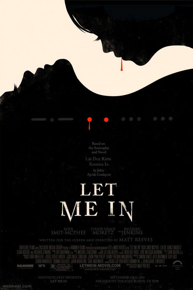 let_me_in creative movie poster