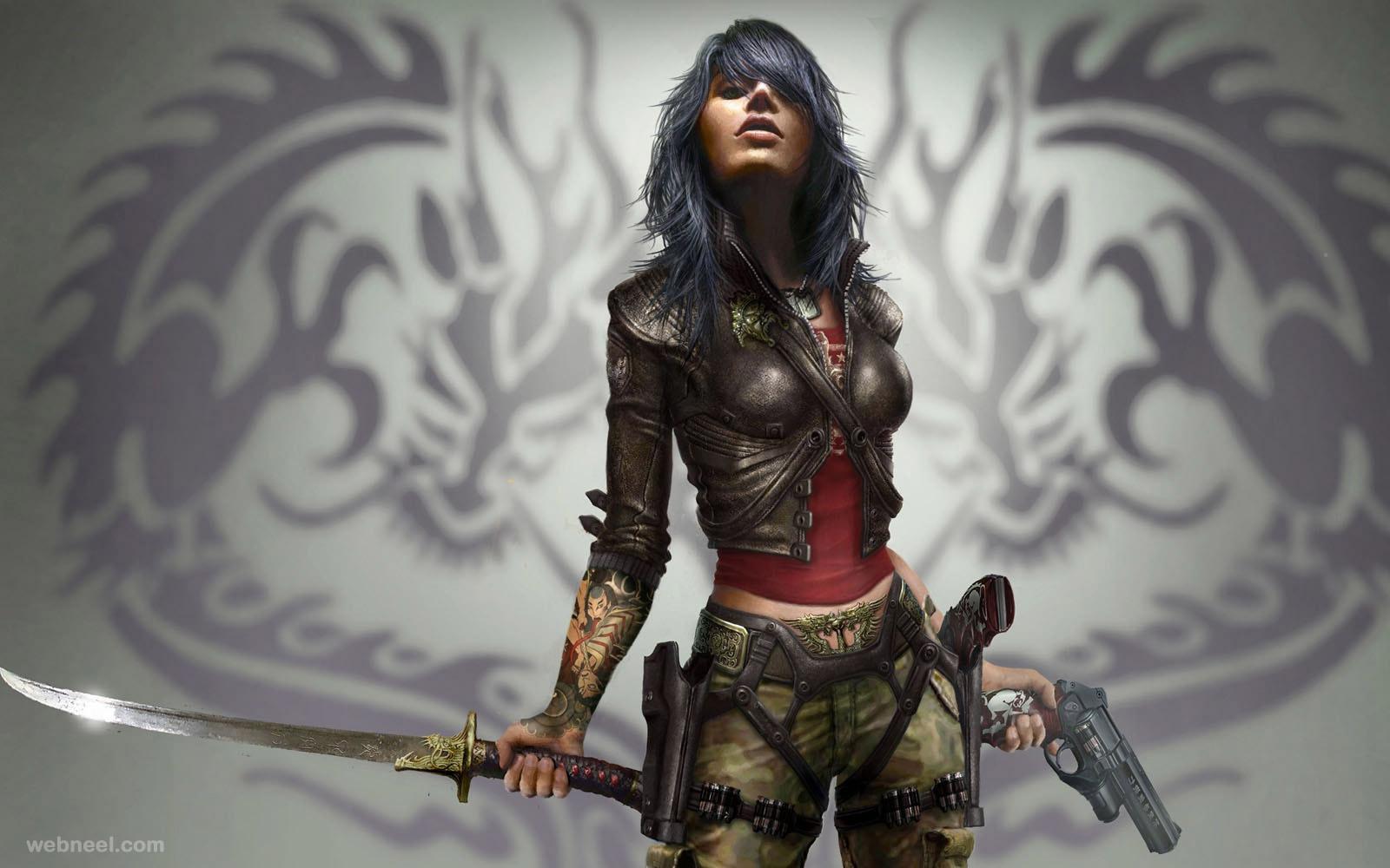 3d rubi game character design