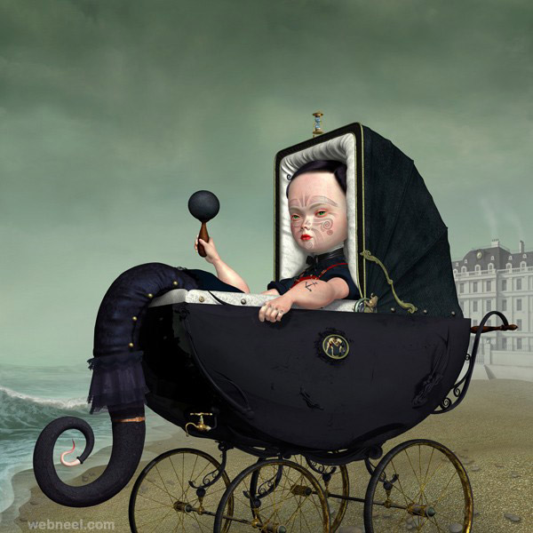 pollux painting by ray caesar