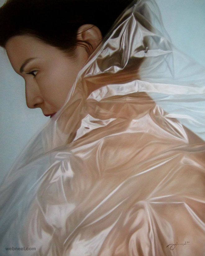 hyper realistic painting by julmard vicente