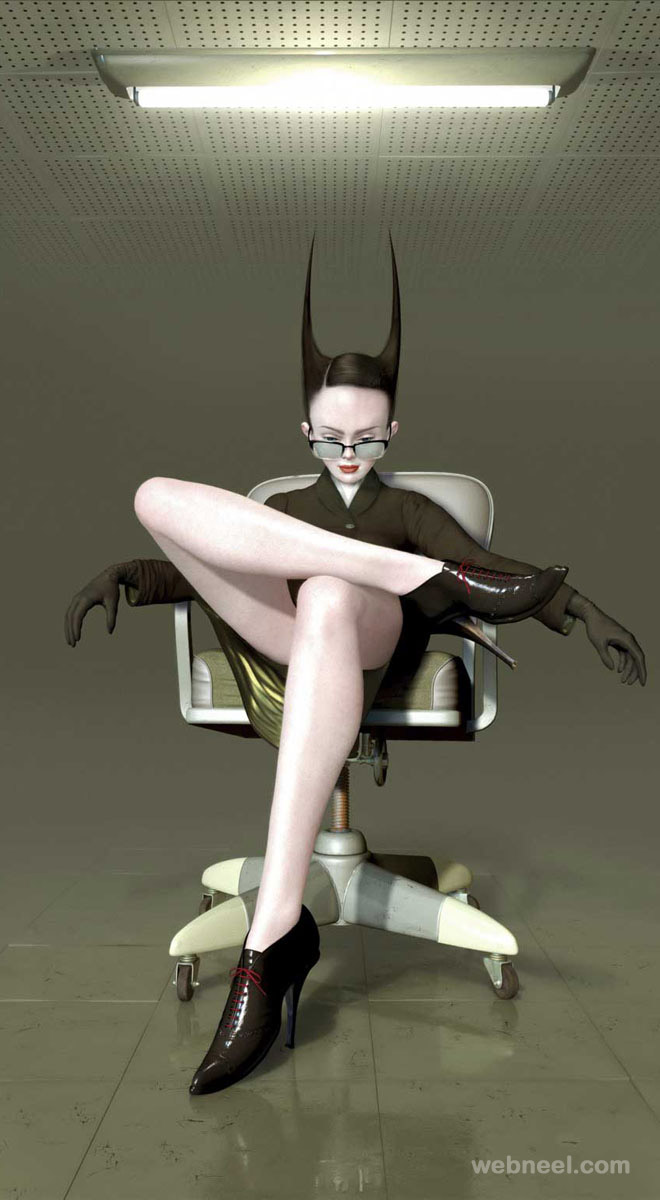 surreal painting by ray caesar