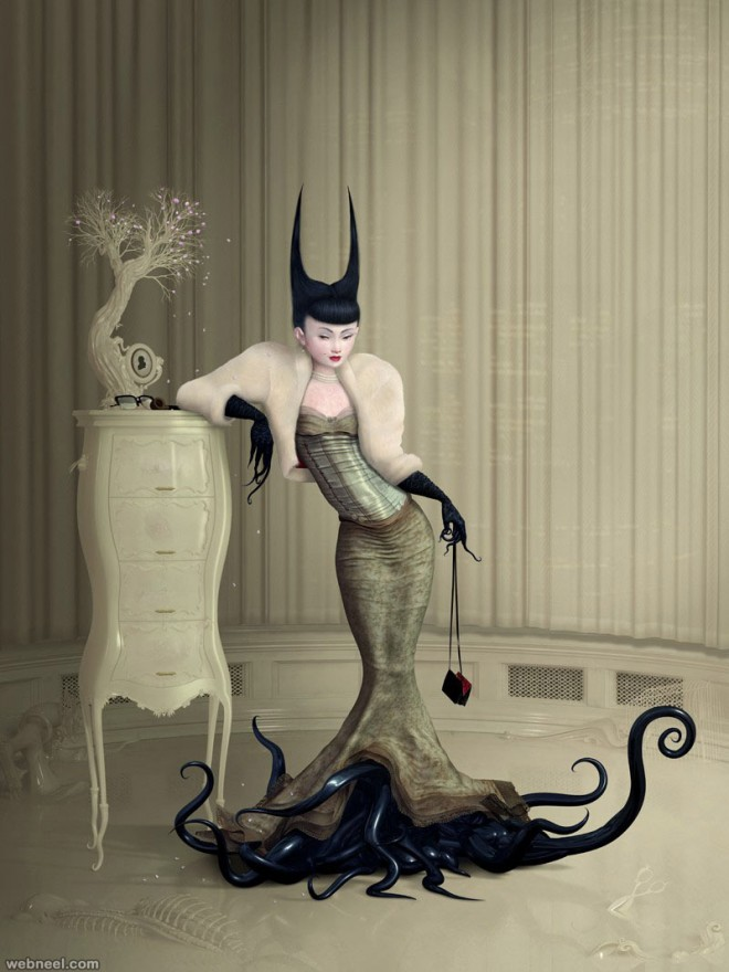 silent partner painting by ray caesar