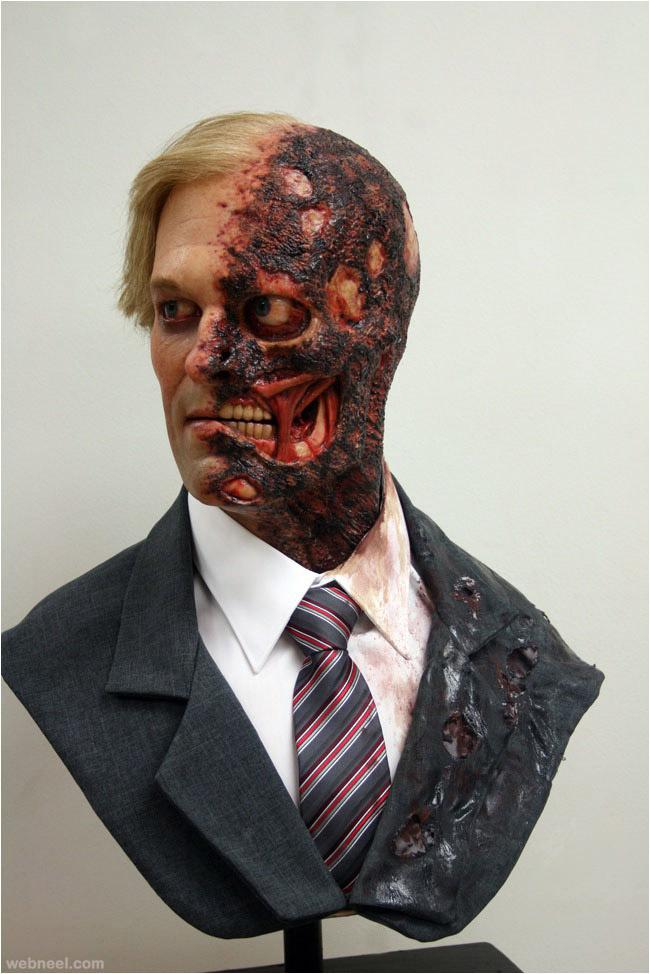 portrait bust realistic sculpture