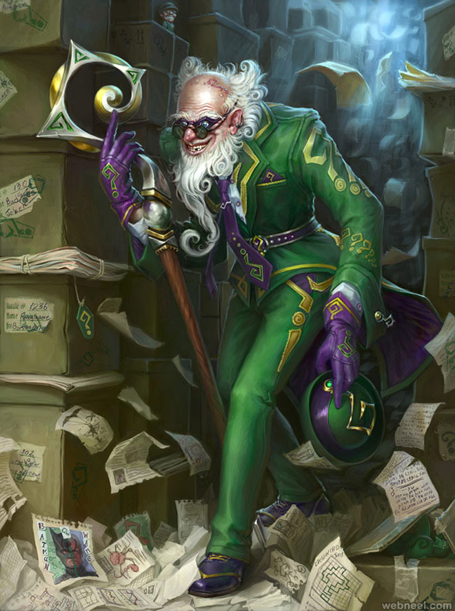 the riddler best digital art work