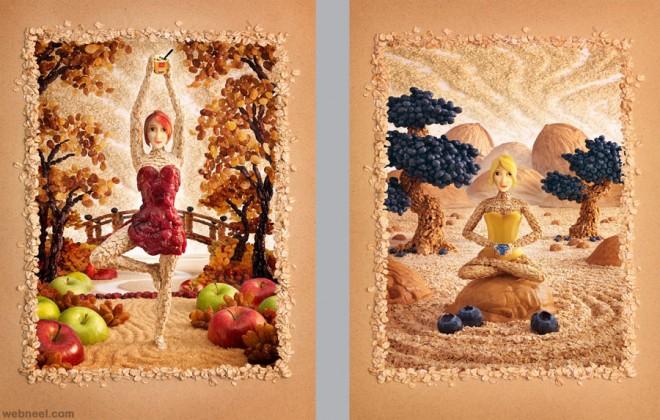 mcd oat girls best ads by carl warner