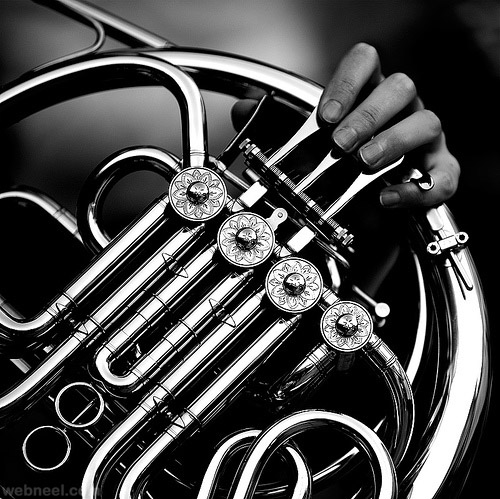 music black and white photography
